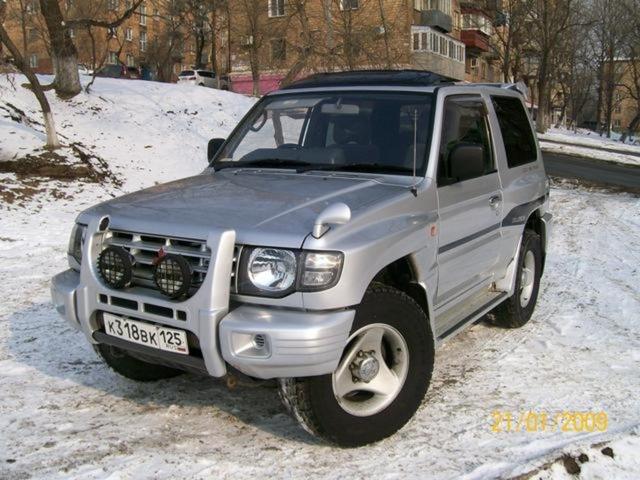 1998 mk2 face lift version - Mitsubishi Montero 2003 Lifted